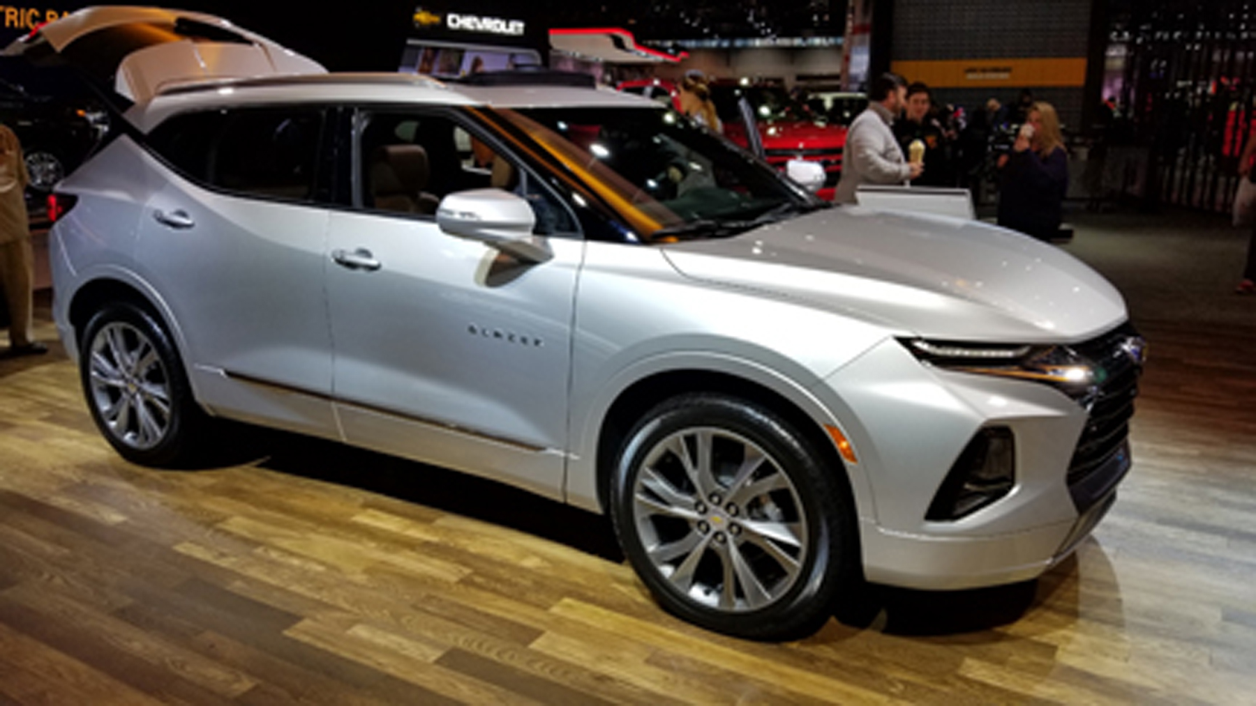 Blazer at 2019 Chicago Auto Show